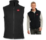 Men's Fleece Vest (Black) - Size M (490-0194M)