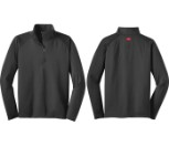 Charcoal Half Zip Pullover - Size M (490-9205M)