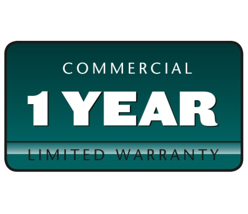 1 -Year Commercial Warranty