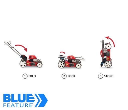 Toro l Recycler High Wheel Walk Mower with SMARTSTOW®, Model 20339