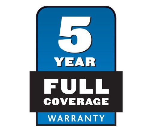 5 Year Full Warranty