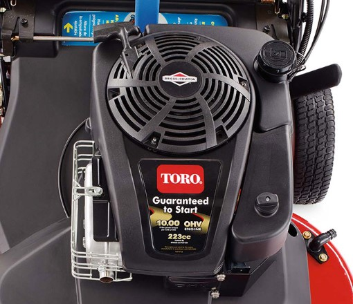 10.00 ft-lb Gross Torque Briggs & Stratton® 223cc OHV