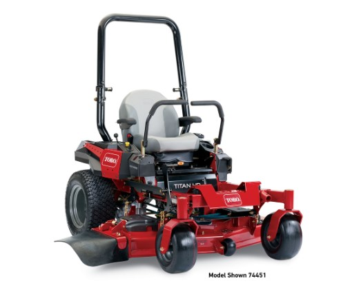 "60"" (152 cm) TITAN® HD 1500 Series Zero Turn Mower (74452)"