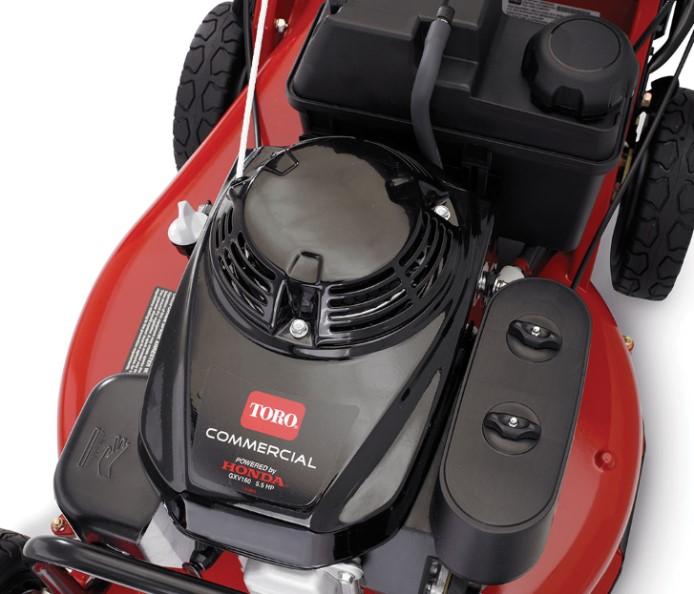 Toro Lawn Mower With Honda Engine   Zef Jam
